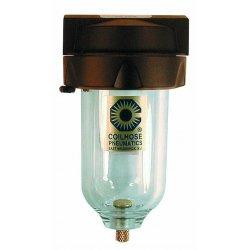 "Coilhose Pneumatics - 8824M - 1/2"" Filter W/metal Bowl, Ea"