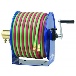 Coxreels / Coxwells - 112W-1-100 - Hand Crank 1/4inx100ft Twin-line-with Hose