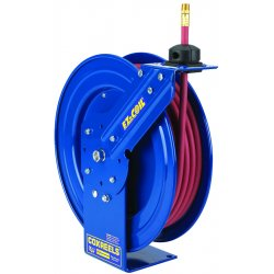 Coxreels / Coxwells - EZ-P-LP-450 - 1/2, 50 ft. Spring Return Hose Reel, 300 psi Max. Pressure