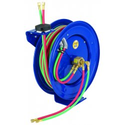 "Coxreels / Coxwells - EZ-P-W-125 - Compact Dual Oxy-acetylene Hose Reel 1/4"" Id 25', Ea"