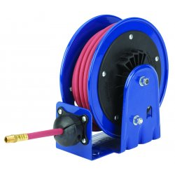 "Coxreels / Coxwells - LG-LP-125 - 1/4"", 25 ft. Spring Return Hose Reel, 300 psi Max. Pressure"