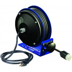 Coxreels / Coxwells - PC10-3012-B - 120VAC Heavy Industrial Compact Retractable Cord Reel; Number of Outlets: 4, Cord Included: Yes