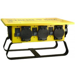 Southwire - 01960 - Nema 3r Rainproof 20a Locking Recep Yl Sled Base