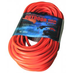 Southwire - 02409 - 100' 14/3 Sjtw-a Red Extcord 300v