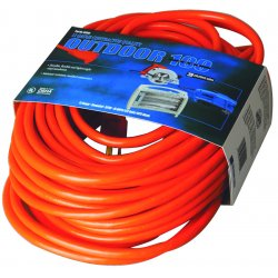 Southwire - 02558 - 50' 12/3 Stw-a Orange Ext. Cord 600v