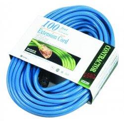 Southwire - 02569 - 100'fluorescent Blue Lowtemp. 12/3 Sjtw-a 300v