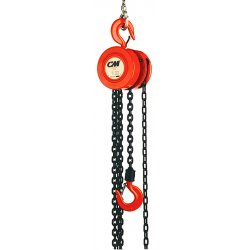 Columbus McKinnon - 2272 - 622 2t 30'lift W/28' Hand Chain, Ea