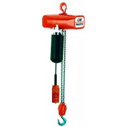Columbus McKinnon - 2407 - 1 Ton 10' Lift 115v Electric Chain Hoist, Ea