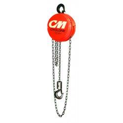 Columbus McKinnon - 4624 - Cyclone Hoist 1 Ton W/ 10ft Lift