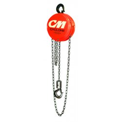 Columbus McKinnon - 4632 - 646 10t 8'lift W/6'handchain Hoist, Ea