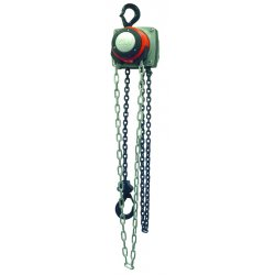 Columbus McKinnon - 5643 - Hurricane Hand Chain Hoist 10 Ton 8ft Lift