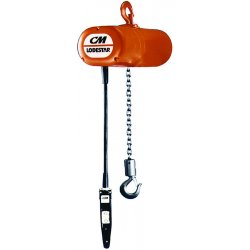 Columbus McKinnon - 9505 - 3t Electric Hoist W/10'lift Single Speed 230/46, Ea