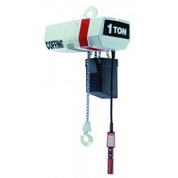 Coffing Hoists - EC2016-3-15 - 1 Ton Ec Electric Chainhoist 15' Lift