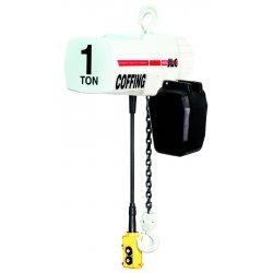 Coffing Hoists - JLC-V1016-3-10 - Elec Chain Hoist W/ Variable Spd- 1/2 Ton 10ft C