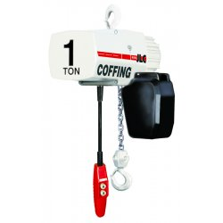 Coffing Hoists - JLC4008-1-15 - 2 Ton- 8 Fpm 115/220-1 15 Ft Lift W/hook Mtg