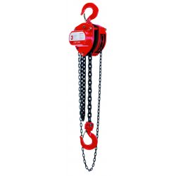 Coffing Hoists - LHH-8B-20 - 8 Ton 20' Lift Hand Chain Hoist, Ea