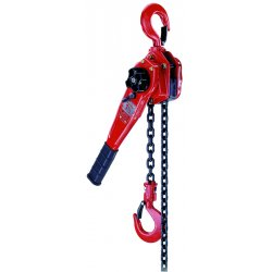 Coffing Hoists - LSB-6000B-5 - 09440 3 Ton Steel Hand Hoist W/5' Lift, Ea