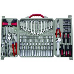 Cooper Tools / Crescent - CTK170MP - 170 Piece Mechanics Toolset Open Case