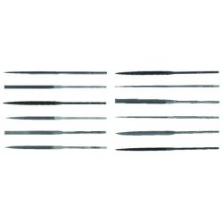 "Apex Tool - 37842 - 6-1/4"" #2 Flat Needle File"
