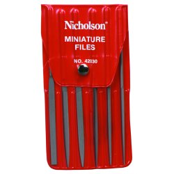 "Apex Tool - 42030 - 5-1/2"" Rhn 6 Assorted Minifiles W/vinyl Pou"