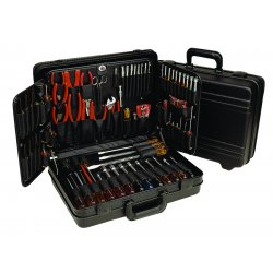 Apex Tool - TCMB100ST - Tool Set Technician With Polyethylene Case 95pc Xcelite Cooper Tools, Ea