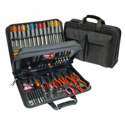 Apex Tool - TCS100ST - Tool Set Technician With Cordura Case 95pc Xcelite Cooper Tools, Ea