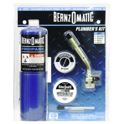 BernzOmatic - PK1001KC - All-in-one Plumbers Kitw/o Heat Sh, Kit