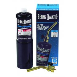 BernzOmatic - UL100 - UL100 Torch Kit, Propane Fuel, Sparker Ignitor