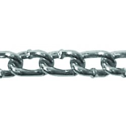 Campbell - 0325034 - 5/0 Galvanized Twist Link Mach.chain