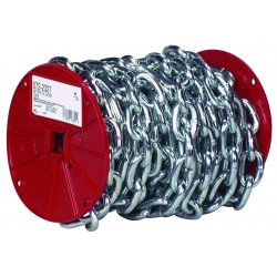 "Apex Tool - 0722127 - 1/4"" Bk System 3-proof Coil Chain"