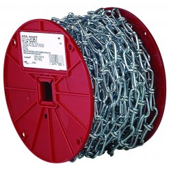 Campbell - 0722627 - #1 Blu Krome Double Loopchain Refill Reel 125ft