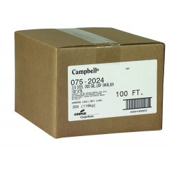 Campbell - 0762024 - 2/0 Bk Inco Double Loopchain