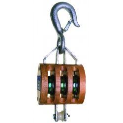 "Apex Tool - 7208536 - 3003 Triple 4"" Regular Wood Shell Block- Loos"