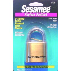 CCL - K0436 - Sesamee Marine Padlock, Ea
