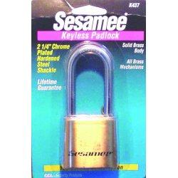 CCL - K0437 - Sesamee Keyless Marinepadlock, Ea