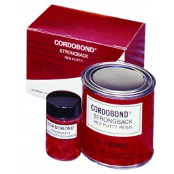 Ferro - 25-501120 - Cordobond Strong Back Red Putty, Ea