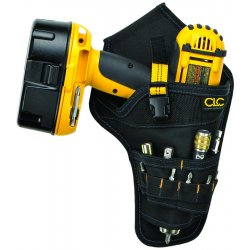 CLC (Custom Leather Craft) - 5023 - Cordless Drill Holster -multiple Outer Pockets