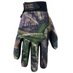 CLC (Custom Leather Craft) - M125L - CLC Mossy Oak Camo Hi-Dexterity Gloves - Large Size - Mossy Oak Camo - Spandex Back, Synthetic Leather, Syntrex Synthetic Palm - Abrasion Resistant, Tear Resistant, Textured Fingertip, Padded Palm, Knuckle Protection,
