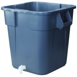 Honeywell - 32-001061-0000 - Fend-all 28 Gallon Sperian Universal Waste Container For Pure Flow 1000 Emergency Eye Wash Station, ( Each )