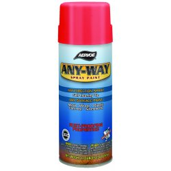 Aervoe - 306 - 16 Oz. Safety Black Rustproof Paint(12 Oz Fill)