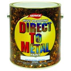 Aervoe - 312G - Flat Black Dtm Paint 1 Gallon