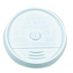 Dart Container - 10UL - Dart Sip-Thru Cup Lids - 100 / CartonWhite