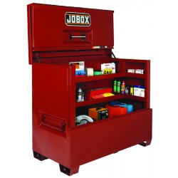 "Jobox - 1-682990 - 49-1/2"" x 31-11/32"" x 60"" Jobsite Piano Box, 47.5 cu. ft., Brown"