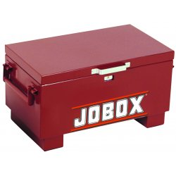 Jobox - 651990 - 31'x18'x15' Heavy-Duty Steel Chest with Site-Vault Security System
