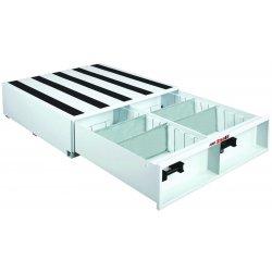Jobox - 664980 - White Truck or Van Door Storage Tray, Steel, 48 Width, 48 Depth, Number of Drawers: 1