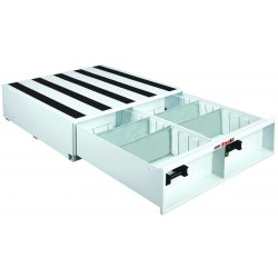 "Jobox - 668980 - White Truck or Van Door Storage Tray, Steel, 48"" Width, 48"" Depth, Number of Drawers: 1"