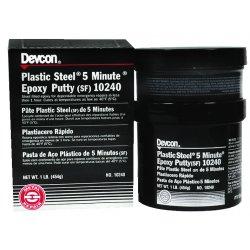 Devcon - 10240 - 1-lb Plastic Steel 5minute Putt