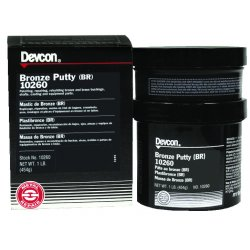 Devcon - 10260 - 1-lb Bronze Putty Br, Ea