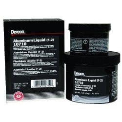 Devcon - 10710 - Aluminum Liquid F-2 Epoxy, 1 lb. (MOQ=6)
