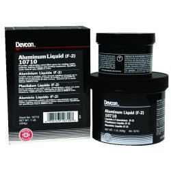 Devcon - 10720 - Pourable Epoxy, Aluminum, 3 lb.